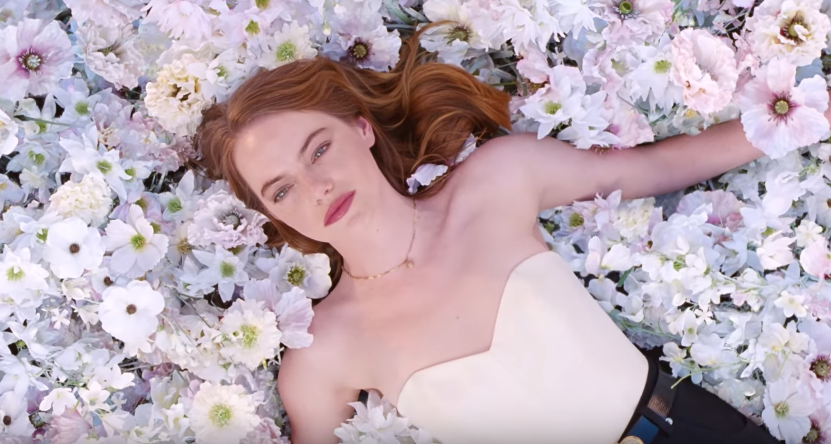 Emma Stone Stars In Louis Vuitton Ad For Their Coeur Battant Fragrance