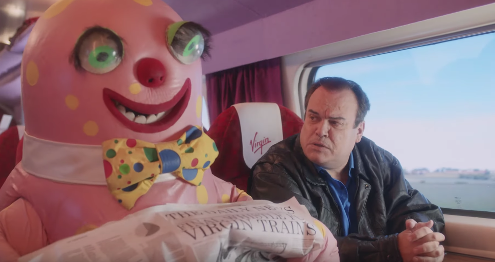 Virgin Trains Take A Trip Back To The 90s In This Brilliant Ad