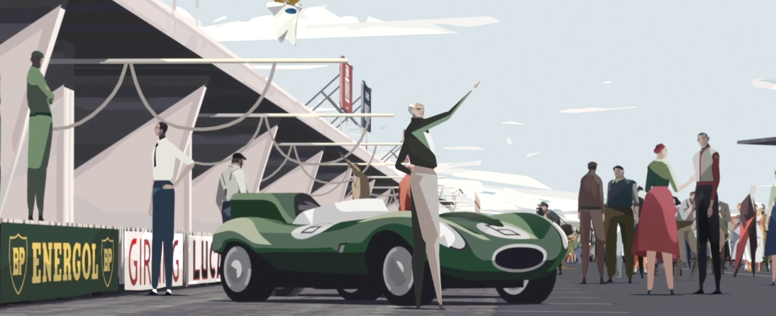 "Animated Short Film ""Le Mans 1955"" Takes Us Inside A Motor Racing Tragedy"