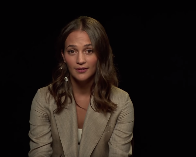 Alicia Vikander Finds Out How Nordic She Is With Netflix