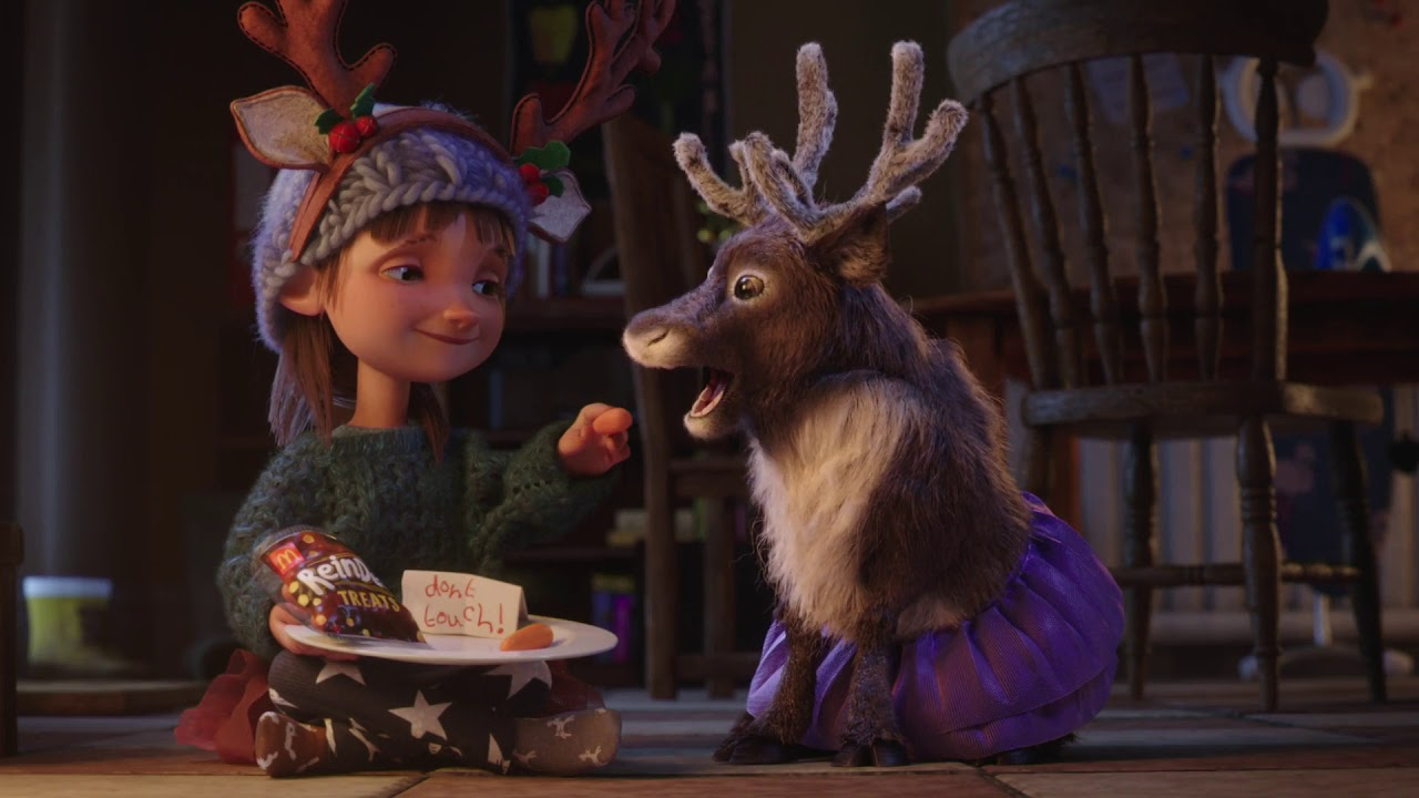 """McDonald's Asks You To Get """"Reindeer Ready"""" In Their New Christmas Ad"""