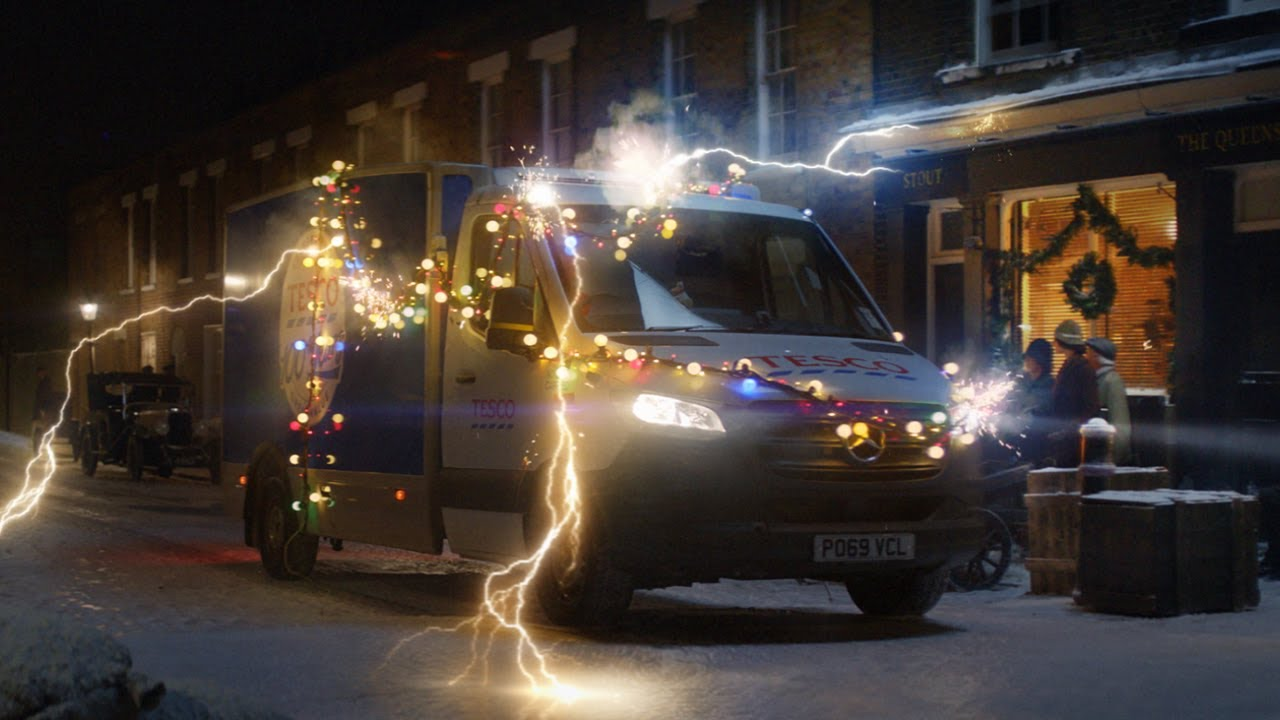 Tesco Travels Through Time In Their New Christmas Ad