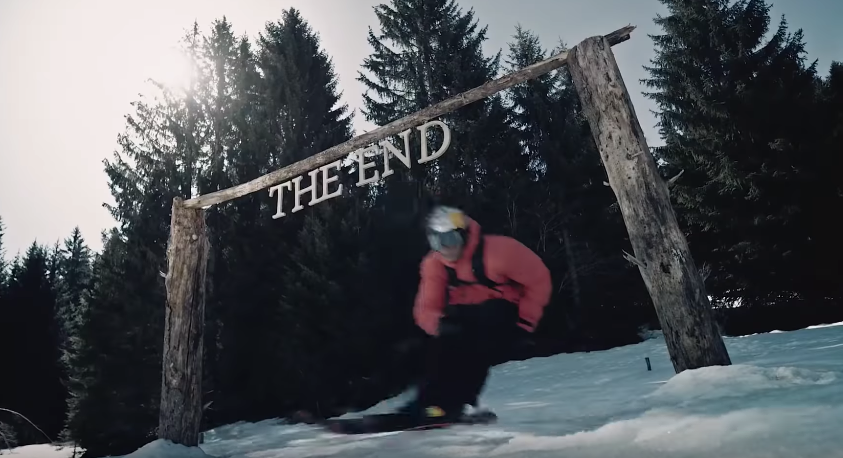 Red Bull Go On A Hair-Raising Downhill Descent With Skier Richard Permin
