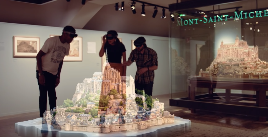 How Microsoft Is Re-Creating Iconic Buildings As Holograms
