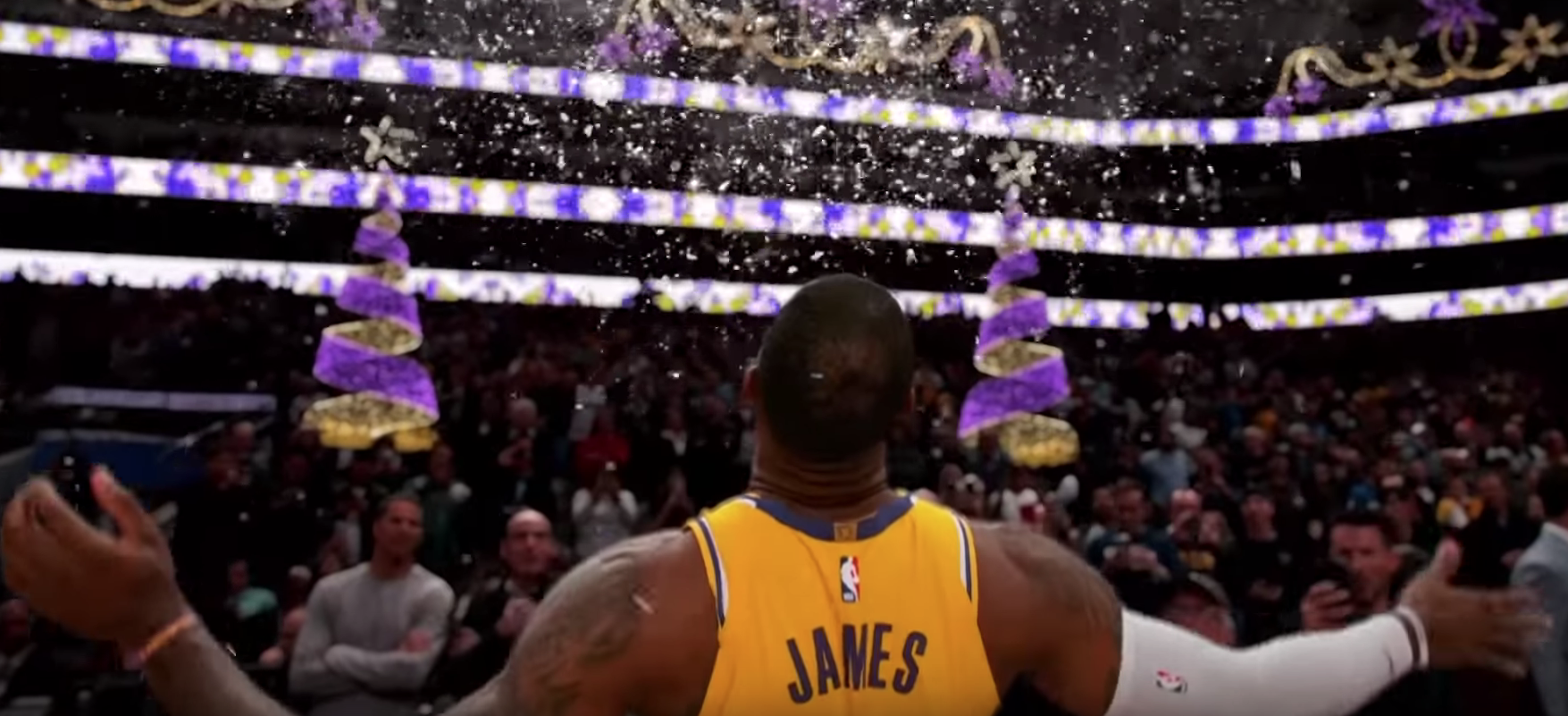 Basketball Courts Are Turned To Ice In This Great Ad For The NBA