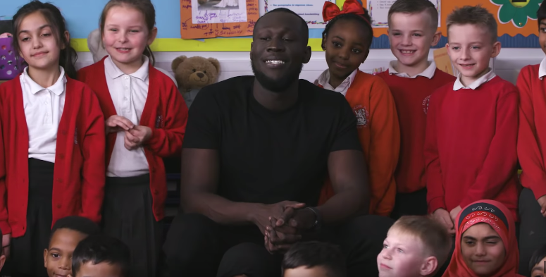 A Roomful Of Cute Kids Interview Stormzy
