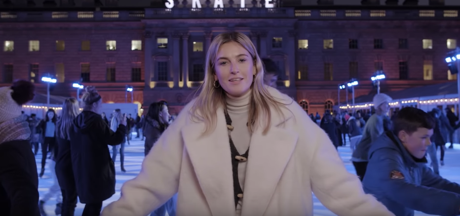 Camille Charrière Takes Vogue On A Guided Tour Of London At Christmas