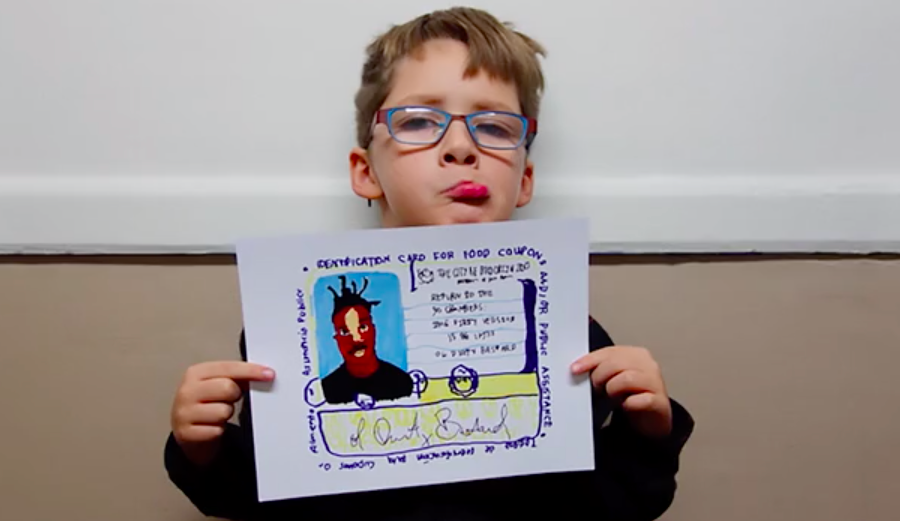 This Doc Tells The Story Of Yung Lenox, The 7 Year Old Hip Hop Cartoonist