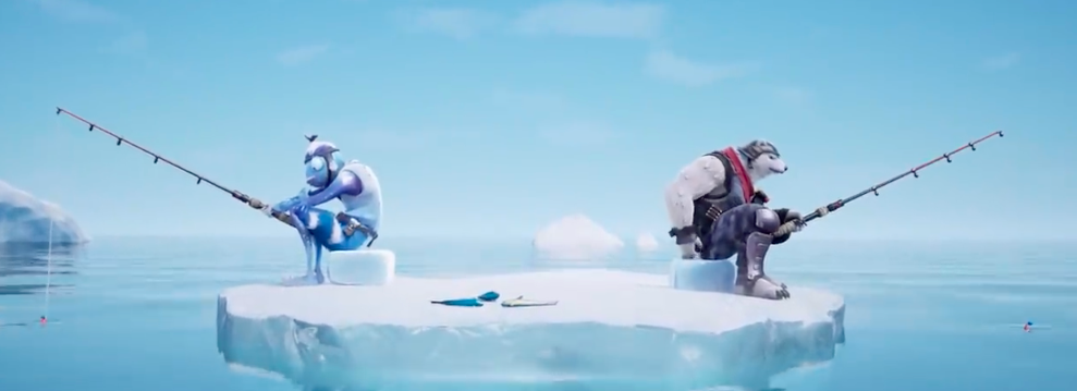 "Epic Games Released This Brilliant New Fortnite Short ""Going Ice Fishin'"""