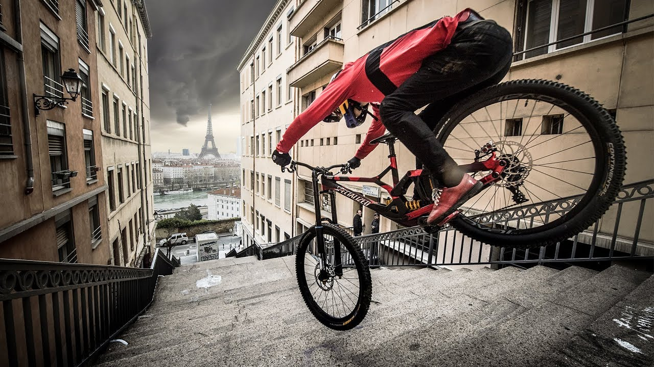 Fabio Wibmer Goes On An Epic Urban Freeride Around France