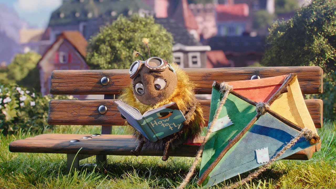 """Erste Group Released The Cutest Christmas Ad Of 2019 """"Hannah Bumblebee"""""""
