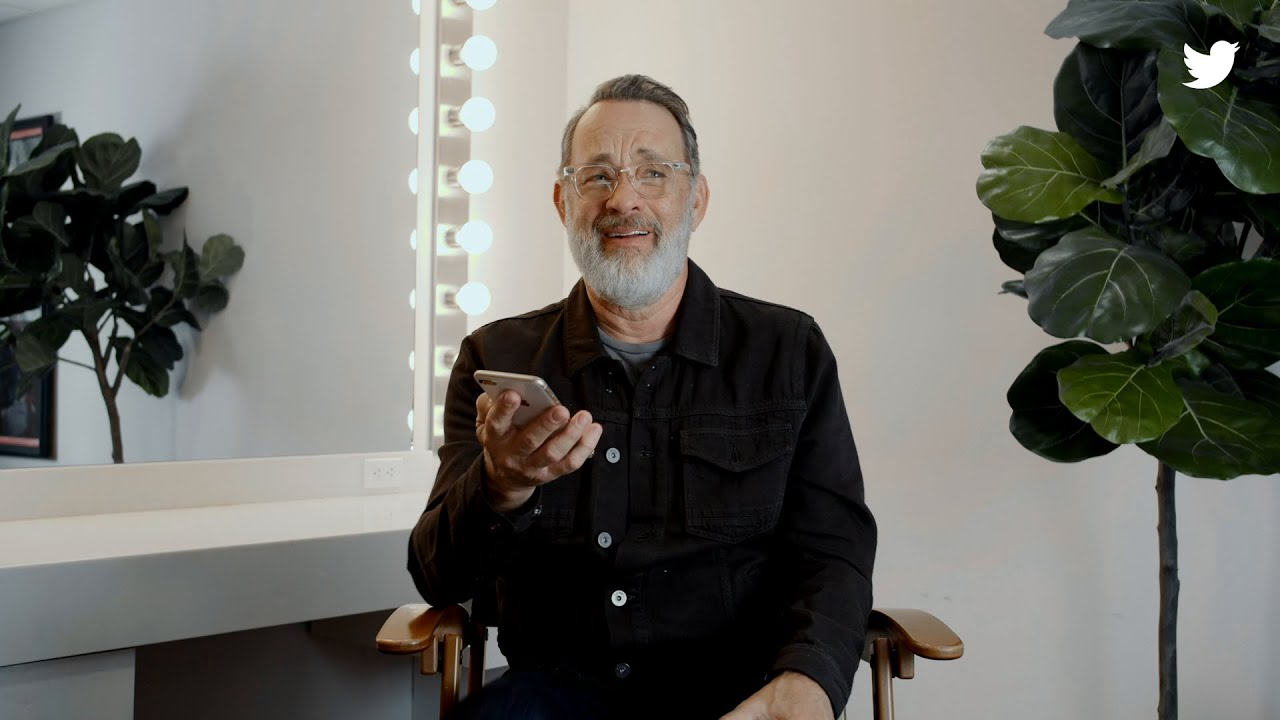 Tom Hanks Reads #NiceTweets With Twitter