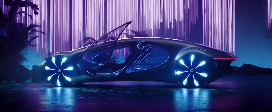 "Take A Look At Mercedes-Benz' ""Avatar"" Inspired Concept Car"