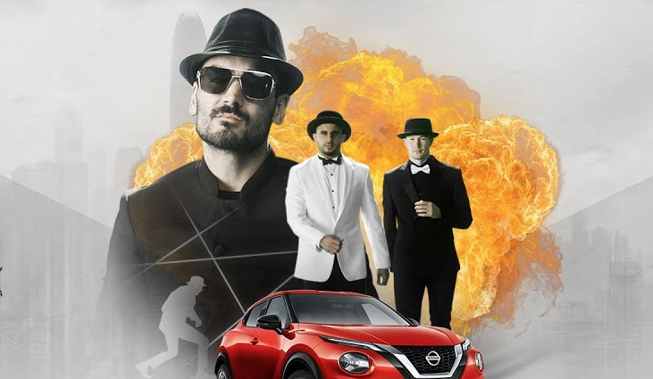 Nissan And The Star Players From Manchester City Make An Action Film