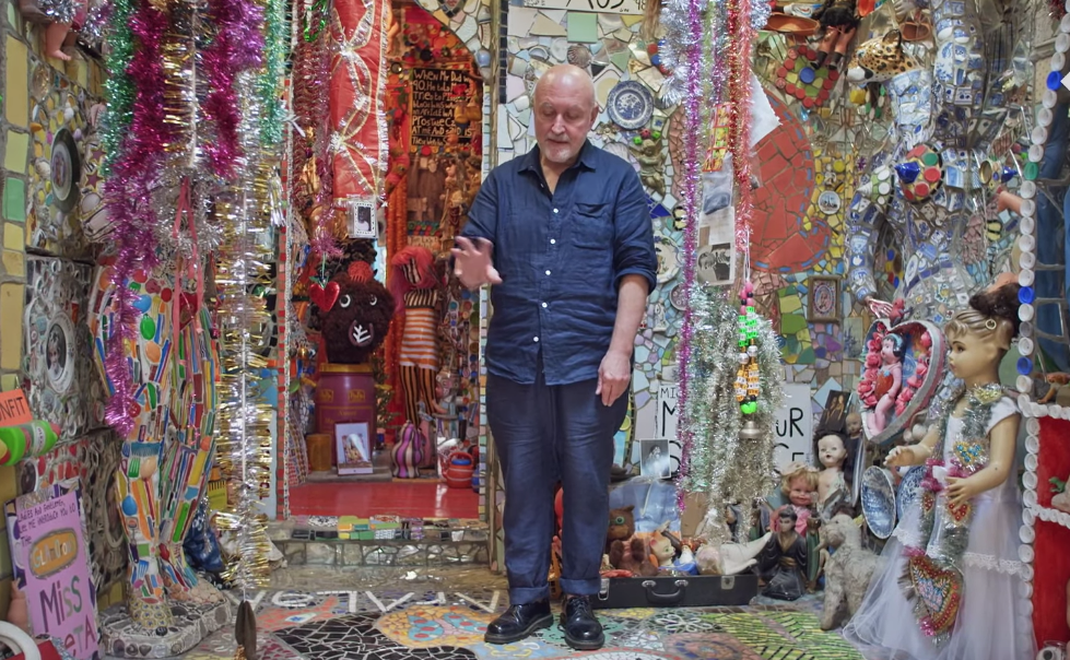 "Artist Stephen Wright Takes You Inside His ""House Of Dreams"""