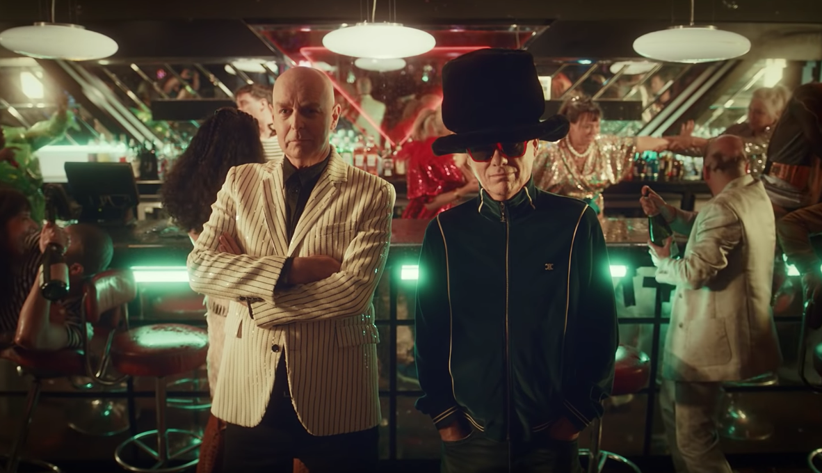 """The Pet Shop Boys Return With The Music Video For """"Monkey Business"""""""