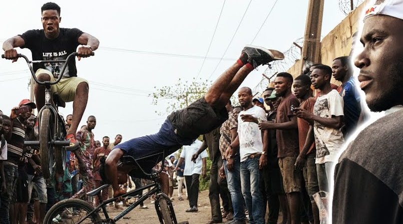 Red Bull Bike: Courage Adams Returns To Nigeria To Go Back To His BMX Roots