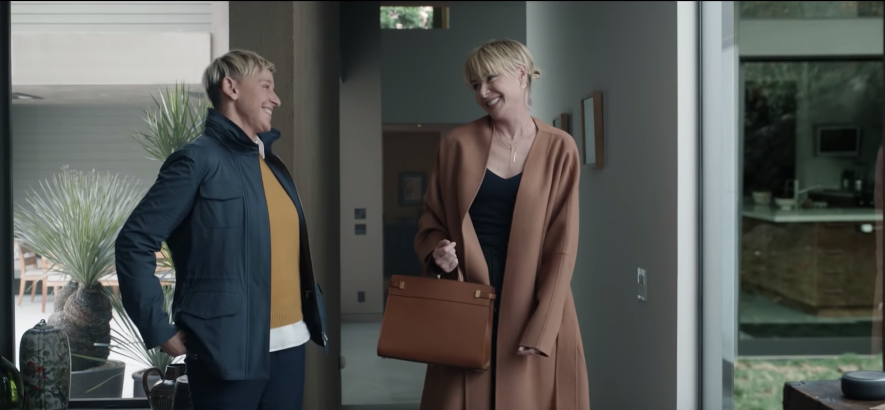 Ellen & Amazon Take A Trip Back In Time To See What Life Was Like Before Alexa