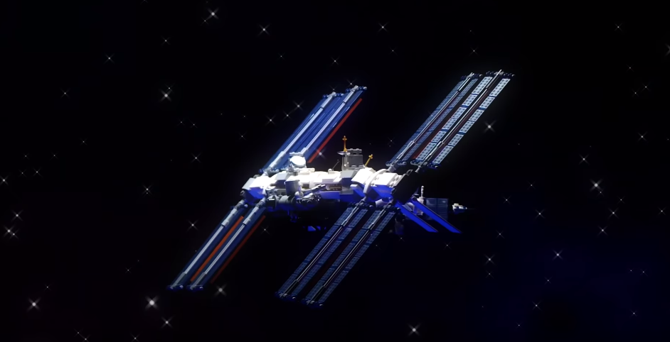 Lego Reveals How They Made A Exact Replica Of The International Space Station