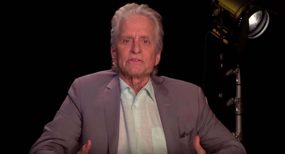 Michael Douglas Teaches An Acting Masterclass With Netflix