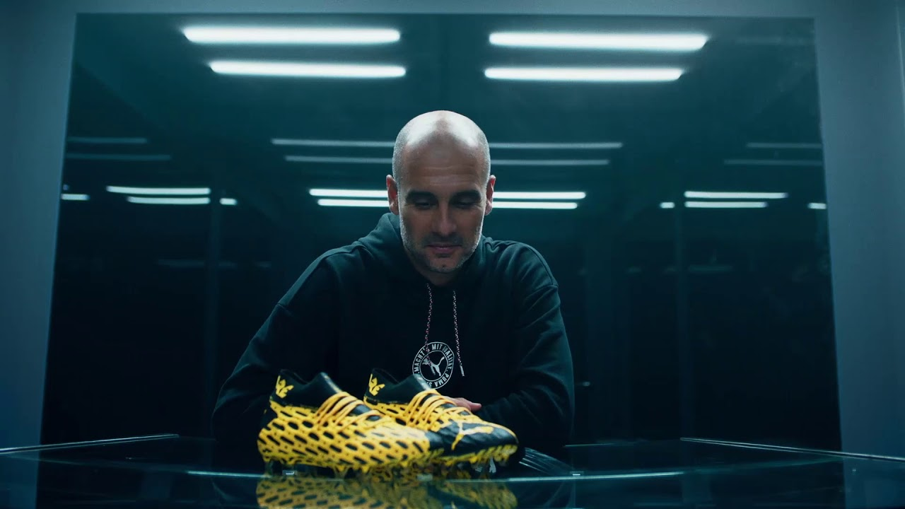 "Puma And Star Football Players Tell You To ""Be The Spark"""