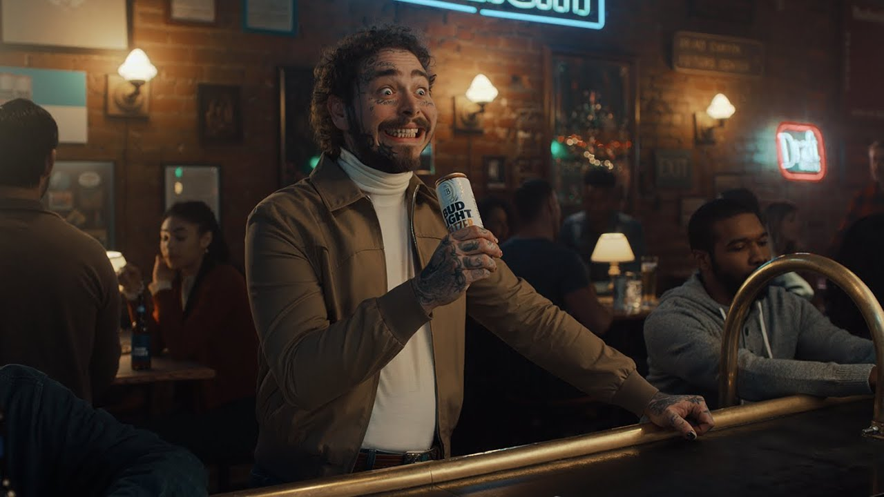 Bud Light Goes Inside Post Malone's Brain In This Funny Commercial