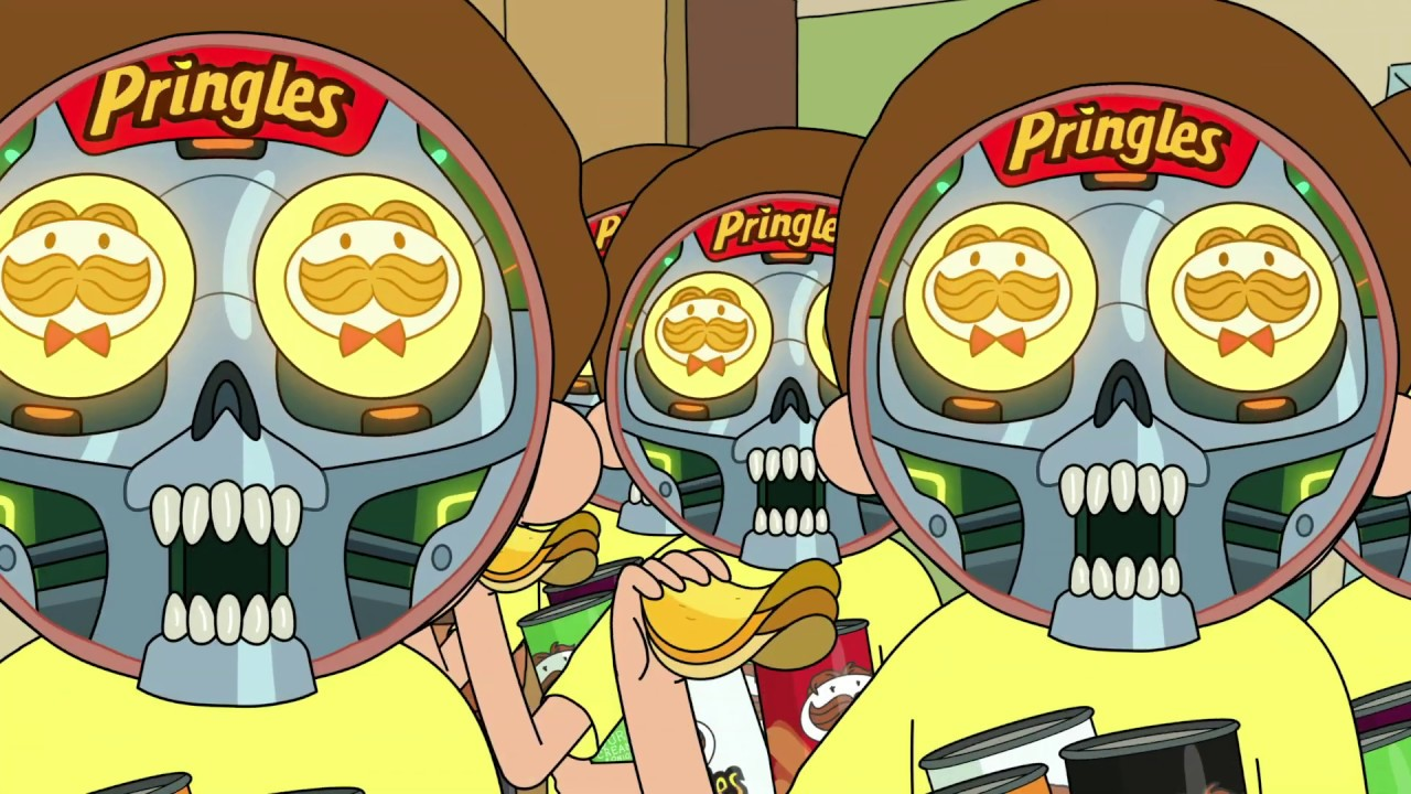 Rick And Morty Star In This Meta Pringles Commercial