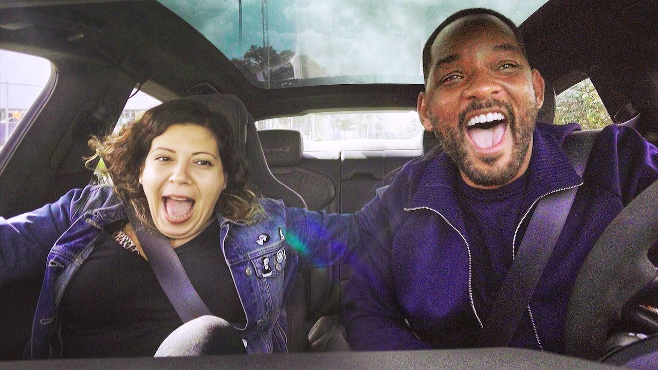 Will Smith Gives Strangers A Ride With Lyft