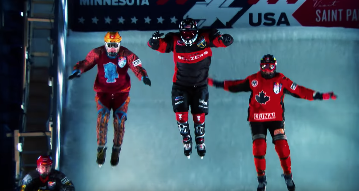 Red Bull Takes Us Inside The Crazy Sport Of Ice Cross