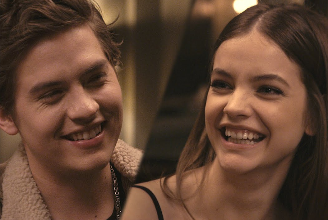 British Vogue Joins Dylan Sprouse & Barbara Palvin On A Valentine's Date
