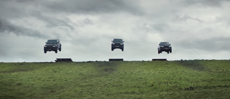 "Land Rover Shows Off Their New Cars In The Bond Flick ""No Time To Die"""
