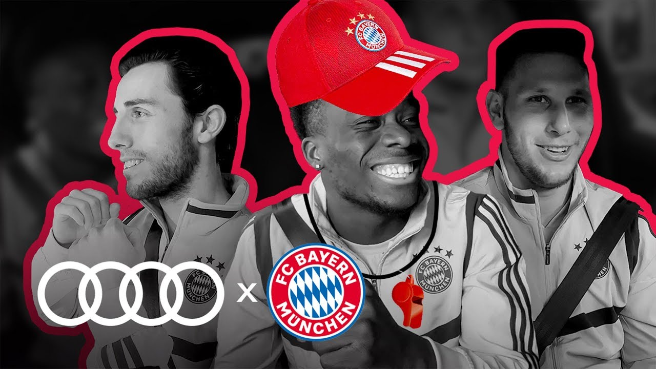 Audi Take The Bayern Munich Team For A Spin In This Interview