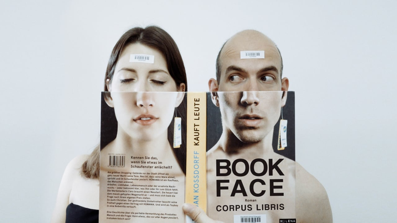 "Short Film ""Bookface"" Lines Up Famous Books With Real-Life Locations & People"