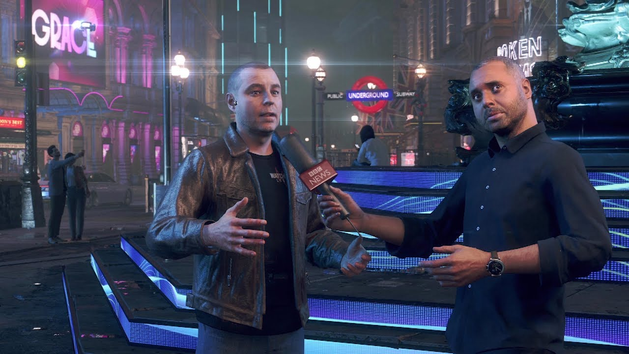 BBC Click Does An Interview Inside Of The Watch Dogs: Legion Video Game