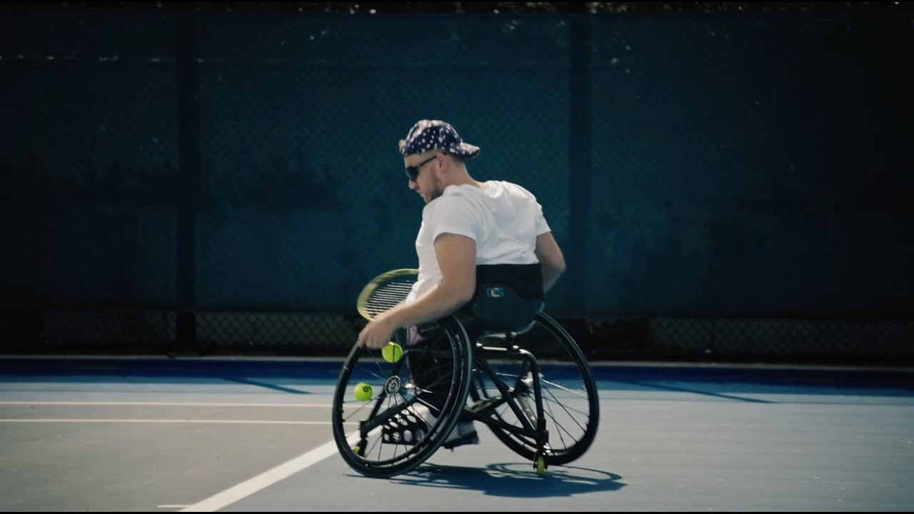 Wheelchair Tennis Pro Dylan Alcott Relives His Journey Through Sport With Nike