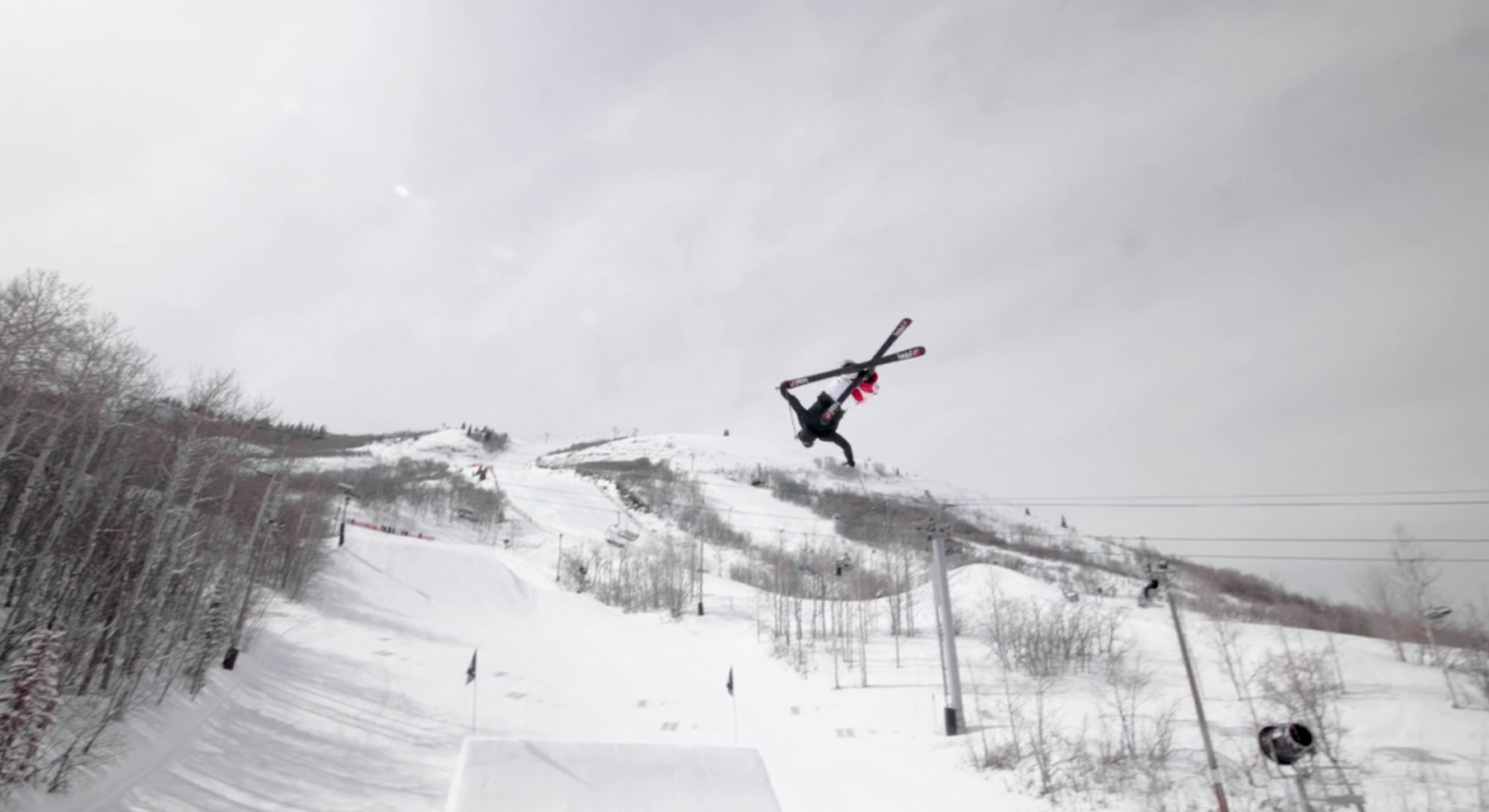 Simon Dumont and Tom Wallisch Shred Some Snow In This Vid