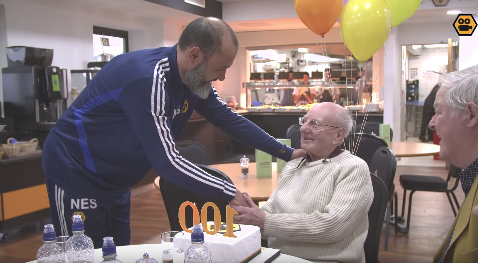 Wolverhampton Wanderers FC Surprise A Fan On His 100th Birthday