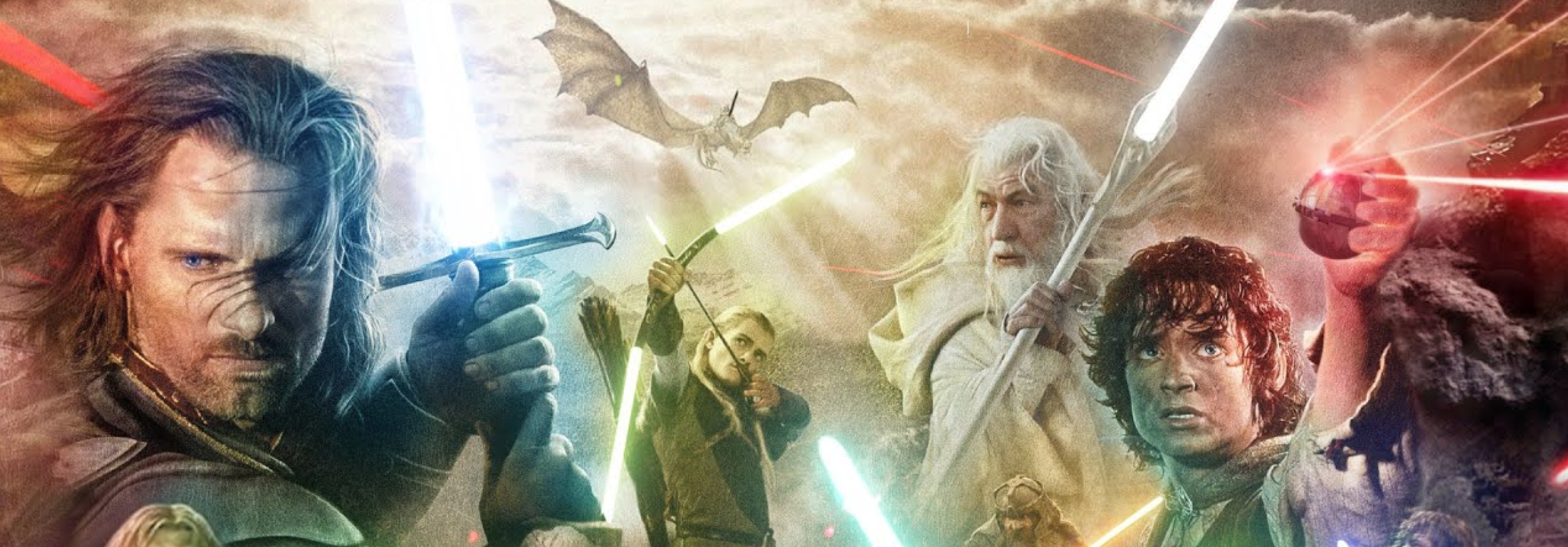 This VFX Crew Remade The Lord Of The Rings With Lightsabers