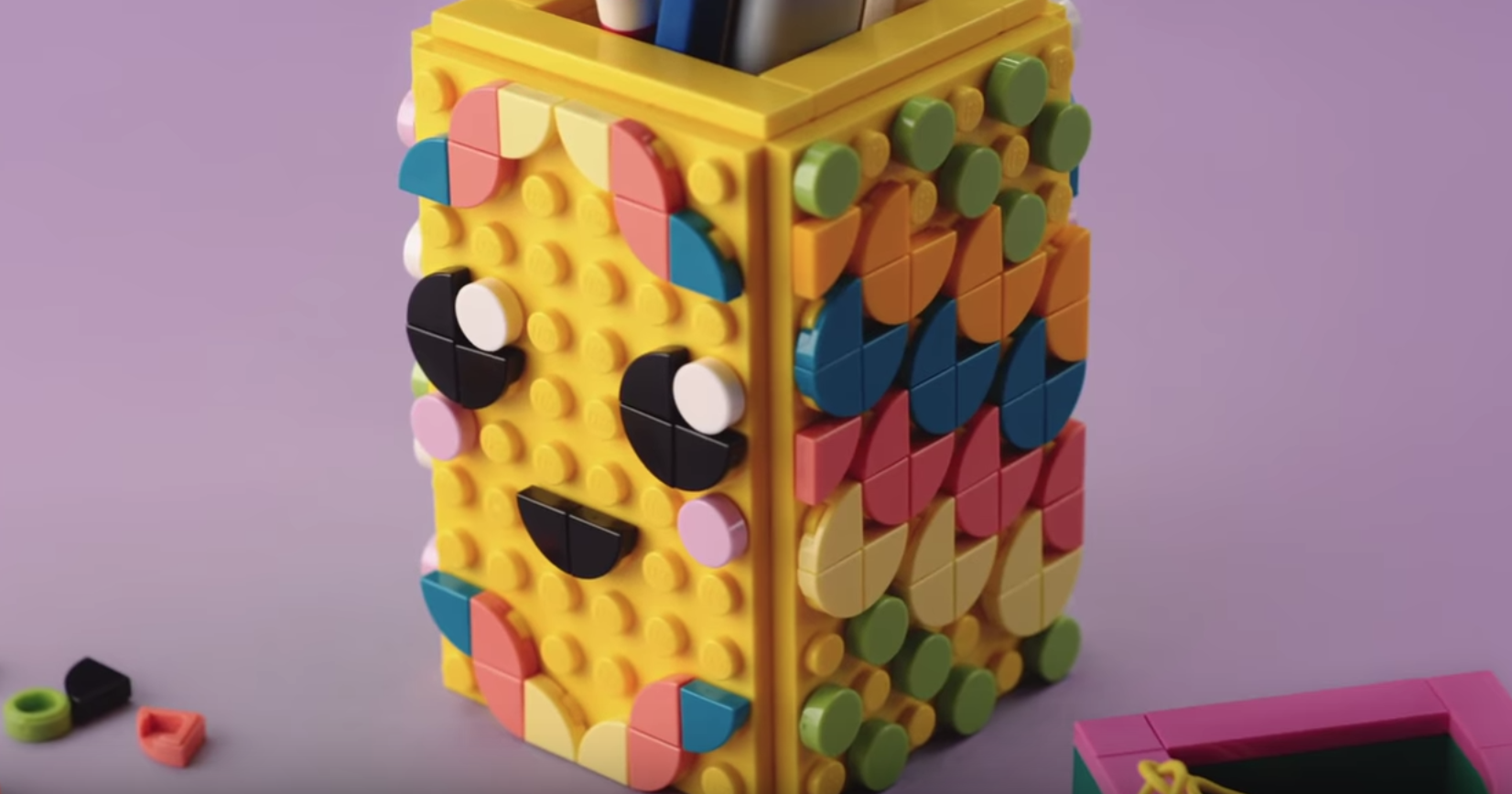 Lego Shows You How To Create Some Handmade Home Décor In This Video