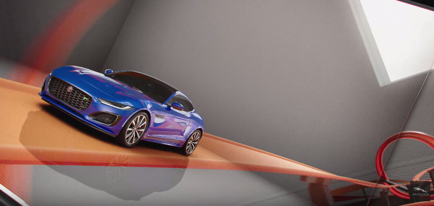 Jaguar Puts Their New F-Type Car Through A Hot Wheels Course In This Ad