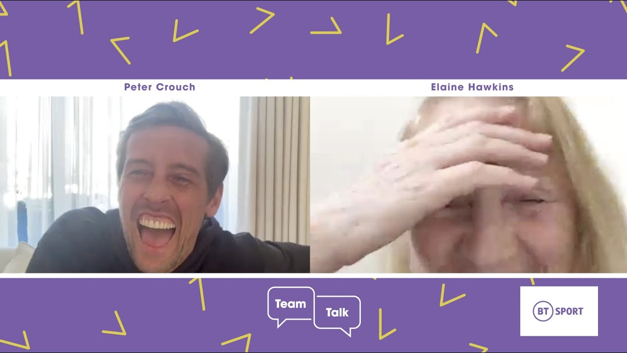 Peter Crouch Surprises A Fan Over Video Chat With BT Sport