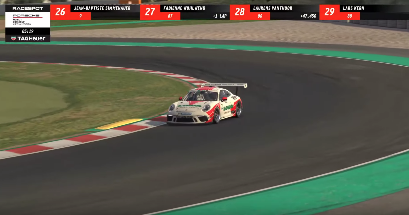Porsche Live Streamed A Virtual Version Of The Mobil 1 Supercup