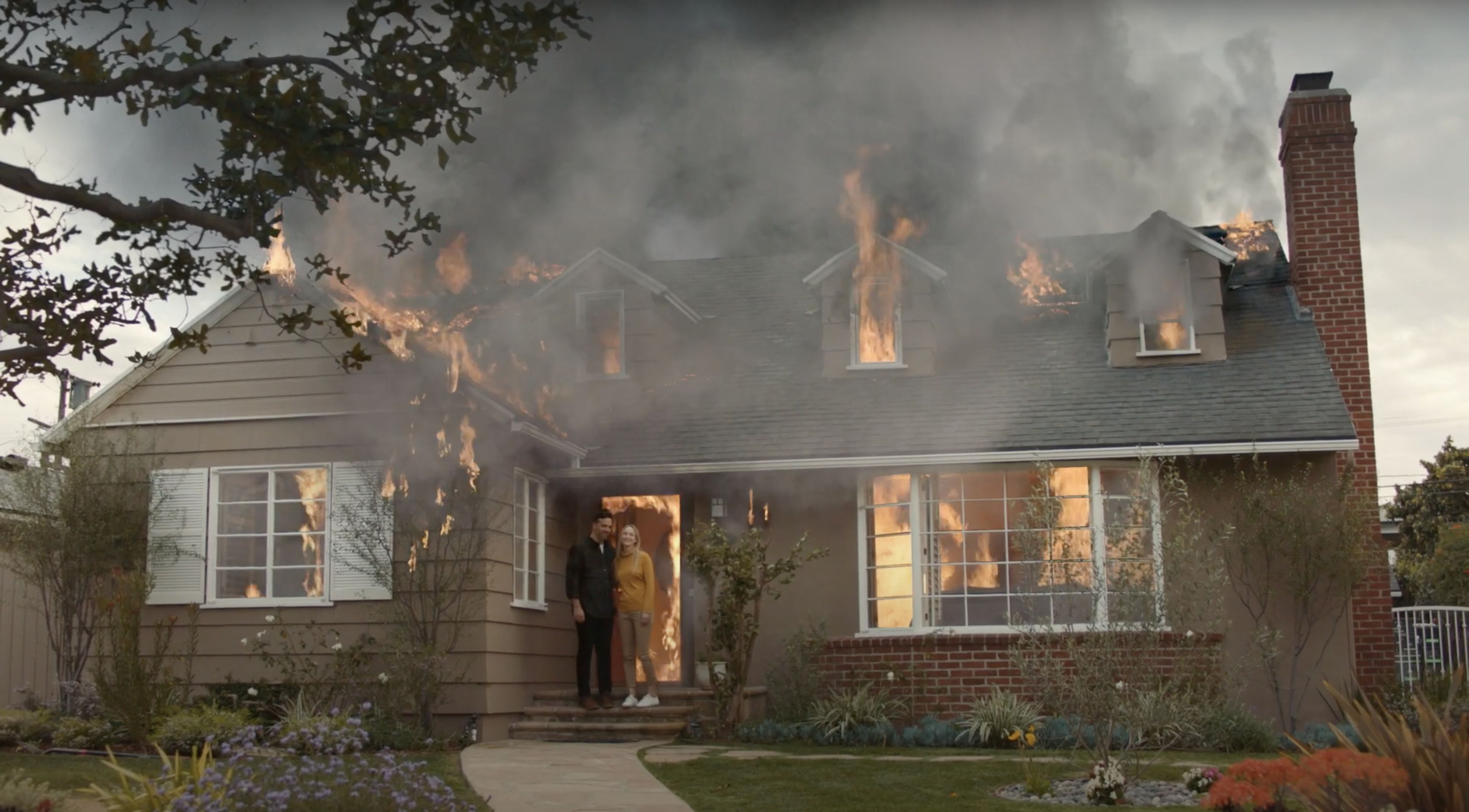 Our House Is On Fire In This Dramatic Climate Change Video