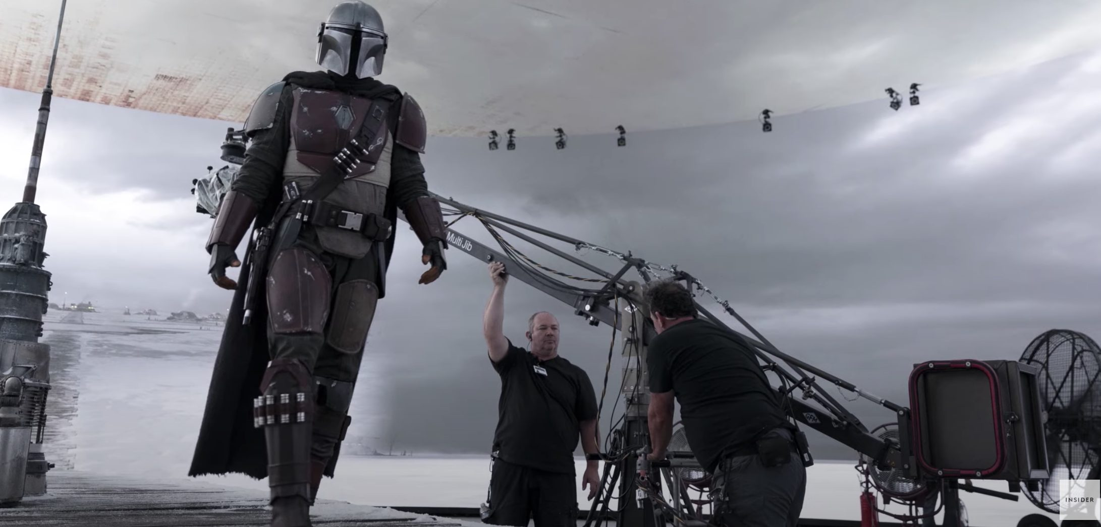 The Makers Of 'The Mandalorian' Used Video Game Technology Instead of Green Screens