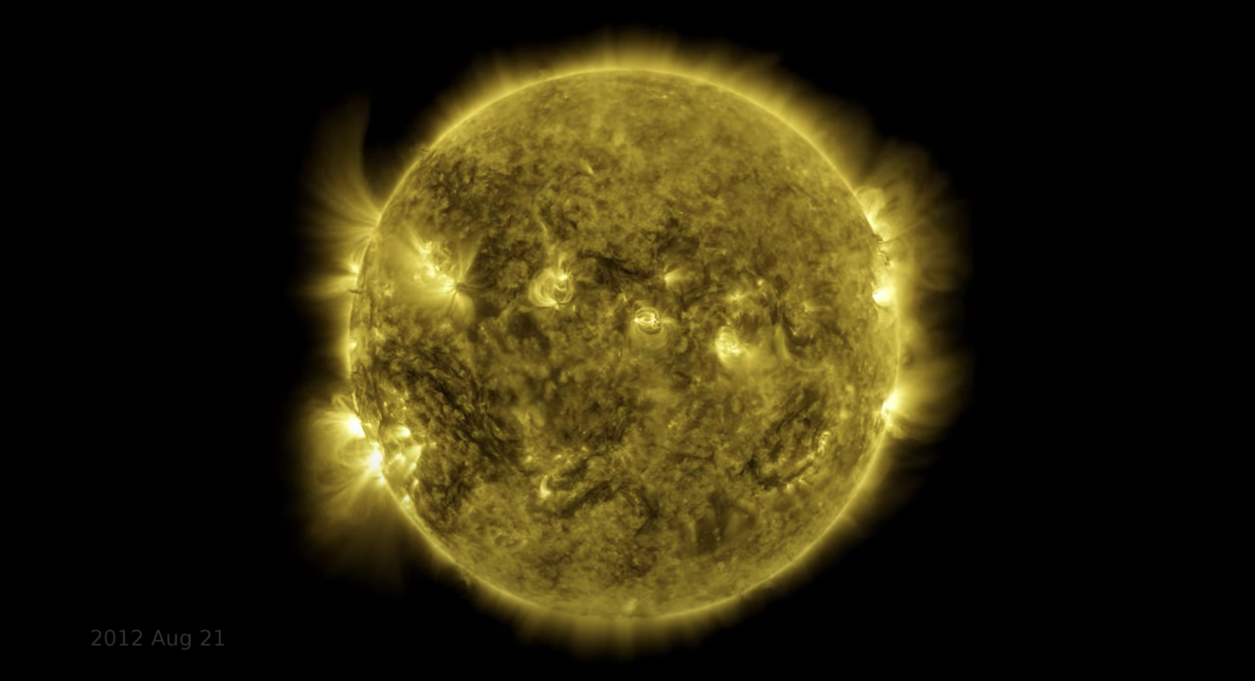 Watch 10 Years Of Images The Sun In This Captivating Video