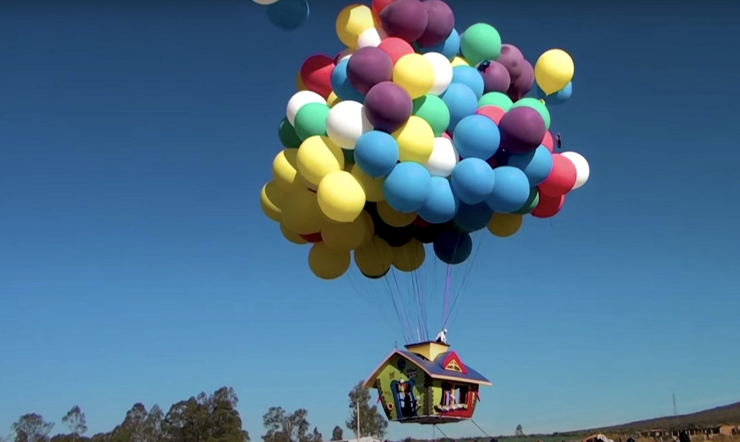 The Real Life Balloon House From 'Up'