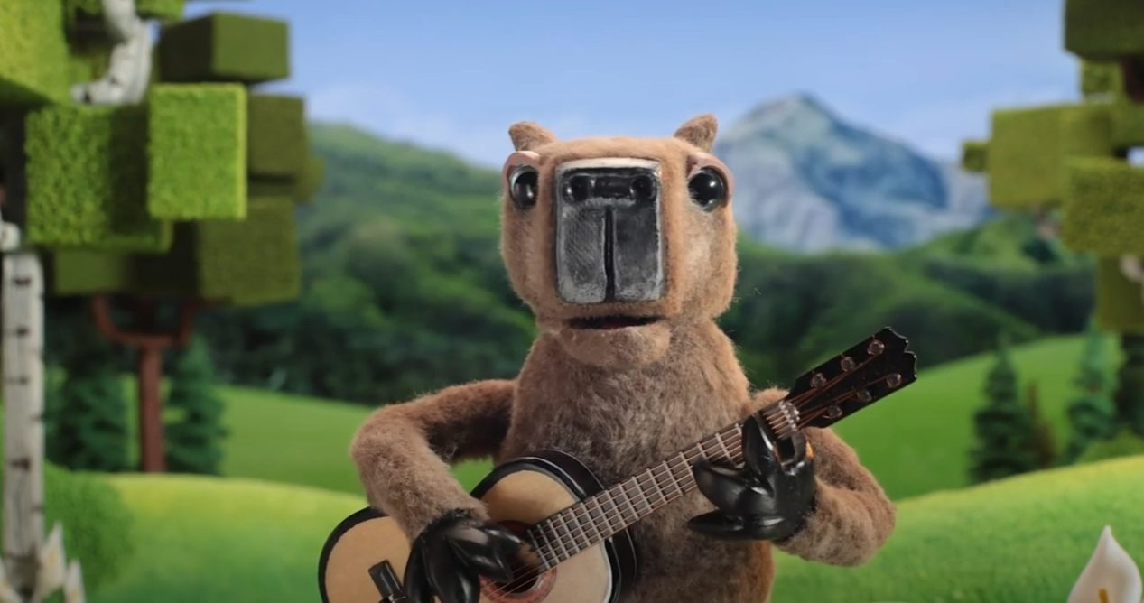 A Singing Capybara Explains How To Refer A Friend To Cricket Wireless