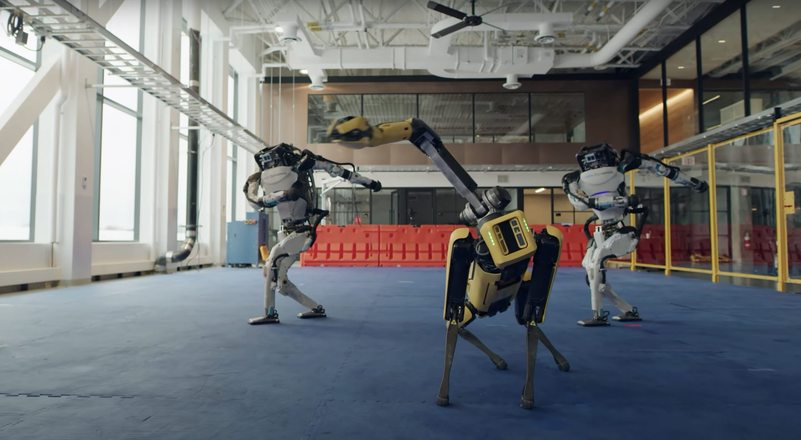 Boston Dynamics Made Their Robots Dance To Celebrate 2021