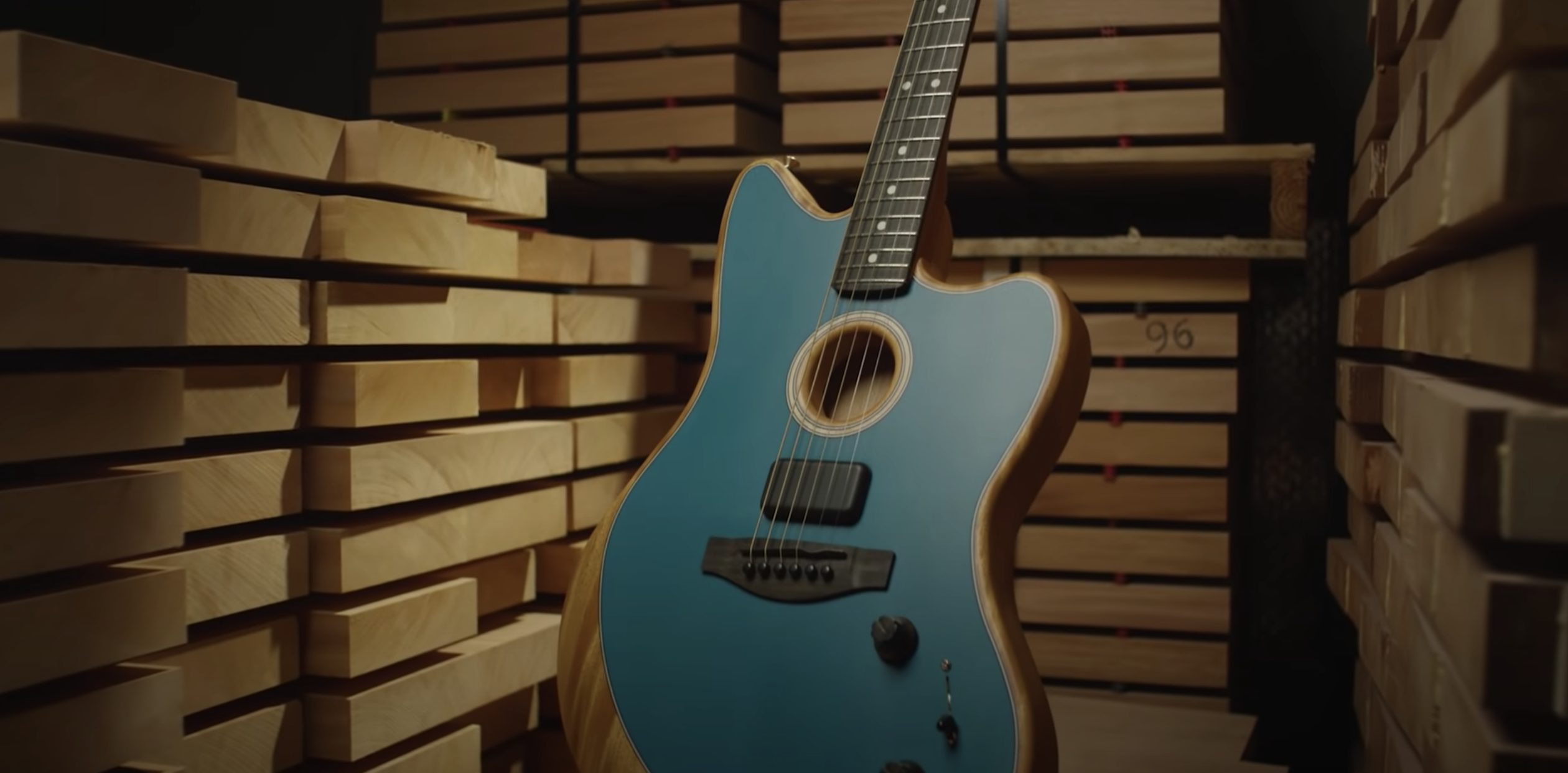 Learn About The New Fender Acoustasonic In This Documentary